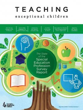 TEACHING Exceptional Children Journal Special SOTP Issue (Volume 52, Issue 1)