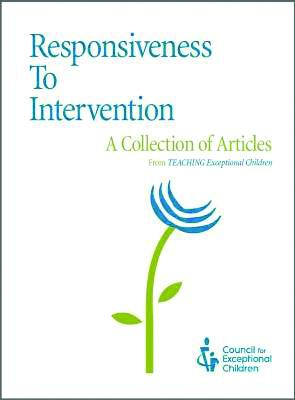 Responsiveness to Intervention: TEC Articles Collection