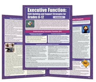 Executive Function: Support Strategies, Grades 6-12