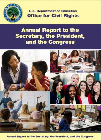 Photo of the cover of this year's report